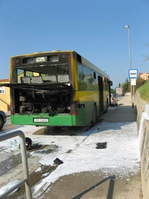 U blizini Barbana planuo Pulaprometov autobus