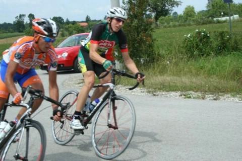 Međunarodna cestovna biciklistička utrka - Gremenc kup /Mađarska/  Luka Grubić sveukupno treći u svojoj kategoriji
