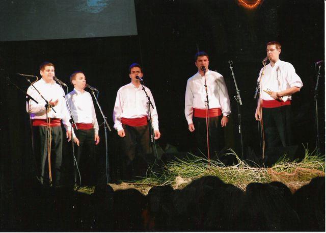 "3. Susret klapa Labin 2009 - predstavljanje klape ""Iskon"""