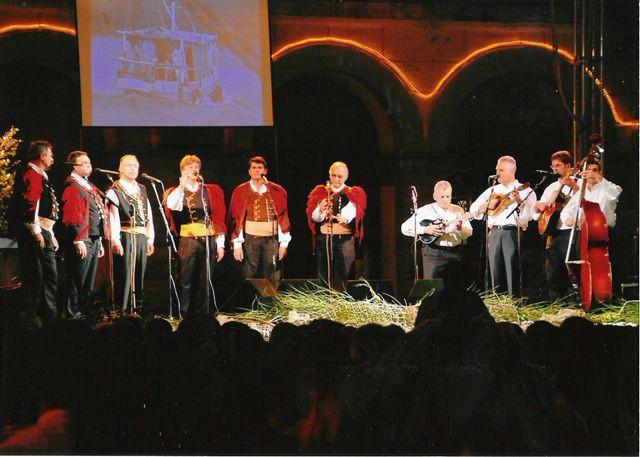 """Susret Klapa Labin 2009 - predstavljanje klapa """"Kumpanji"""" i """"Maslina"""""""