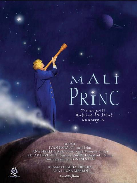 Večeras predstava Mali princ, kazališta Merlin Kod Špine