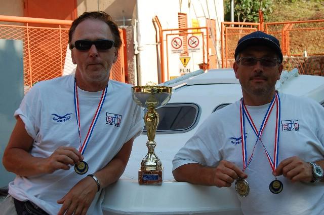 Đani Vlačić i Davor Filipeti ekipni prvaci Istre u ribolovu štapom s brodice