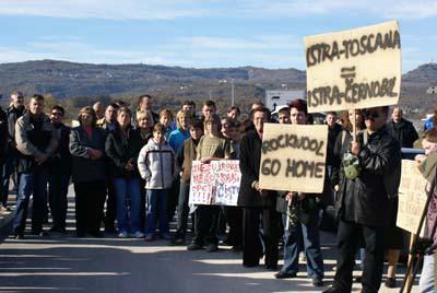 Što su na prosvjedu protiv Rockwoola govorili mještani i političari