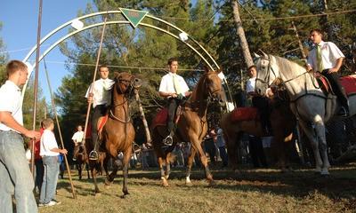 Barban: Šesnaest konjanika u utrci za prstenac