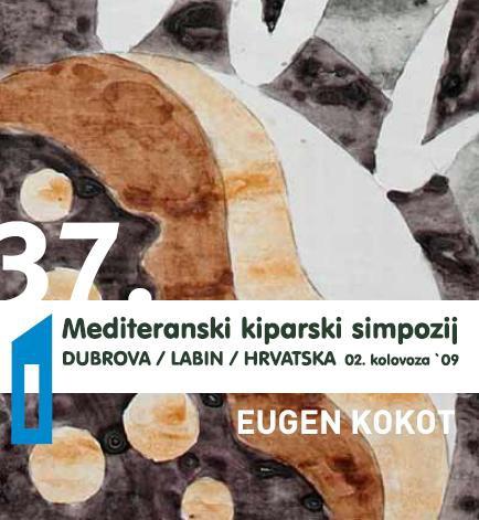 """37. Mediteranski kiparski simpozij - 14.-ta dionica """"Dan i noć bijele ceste""""  Eugena Kokota"""
