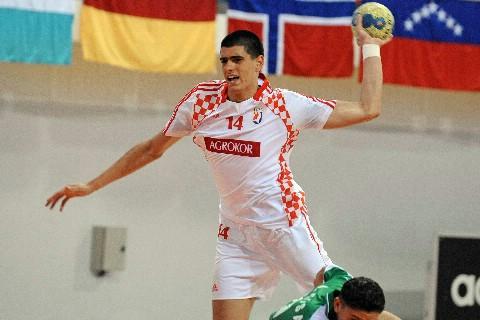 Luka Stepančić sa hrvatskom reprezentacijom svjetski prvak - Svjetsko mlađe-juniorsko prvenstvo rukometaša - Tunis 2009