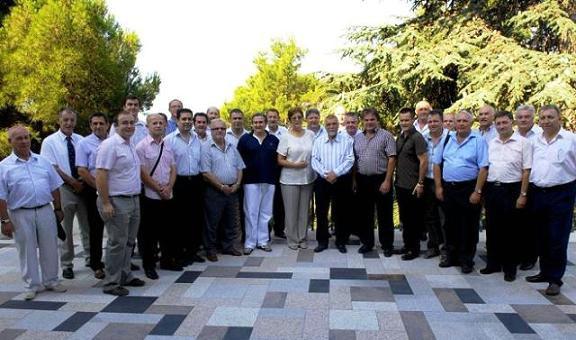 Mesić primio čelnike istarskih općina