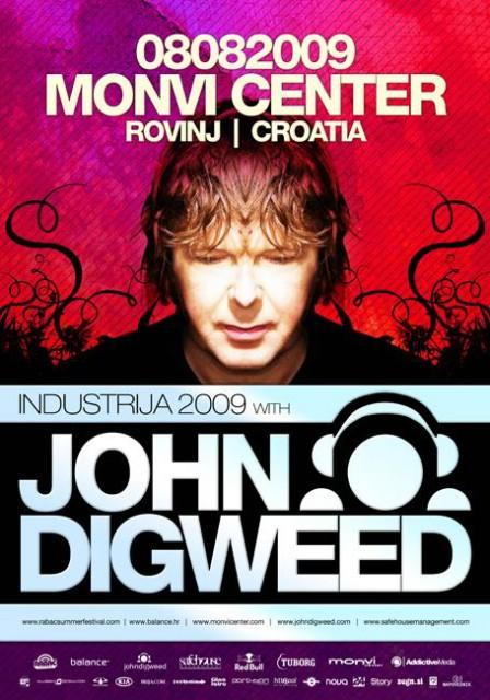 Industrija 2009 w/ John Digweed @ Monvi - NAGRADNA IGRA - 2 ULAZNICE!