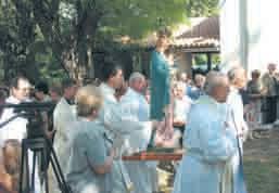 Petangošt u Šumberu: Proslavljena Gospa Snježna