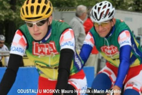 Hrastnik i ostala dvojica Hrvata odustali na Svjetskom juniorskom prvenstvu u cestovnom biciklimu - Moskva 2009.