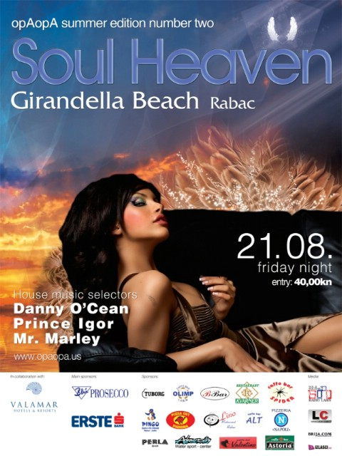 opAopA presents: Soul Heaven @ Girandella Beach, Rabac 21.08.2009.