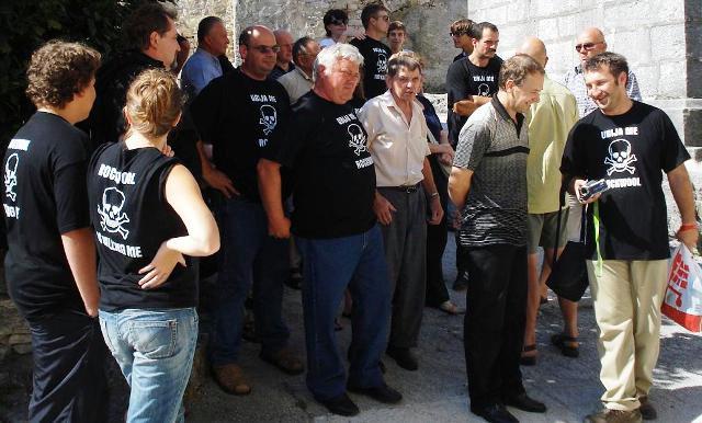 Pićanci prosvjedovali na svečanoj sjednici: strpljenje naroda na kraju - Jakovčić ih podržao