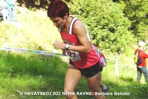 Izborna utrka za Svjetsko prvenstvo u brdskom trčanju : Barbara Belušić potvrdila reputaciju najbolje Hrvatice