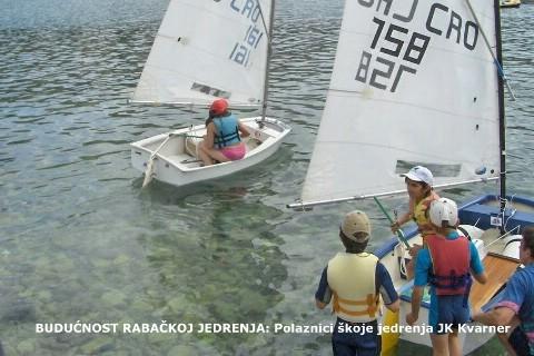 Jedriličarska regata početnika - Rabac 2009.