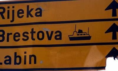 Loša prometna signalizacija: Za Rijeku preko Vozilići