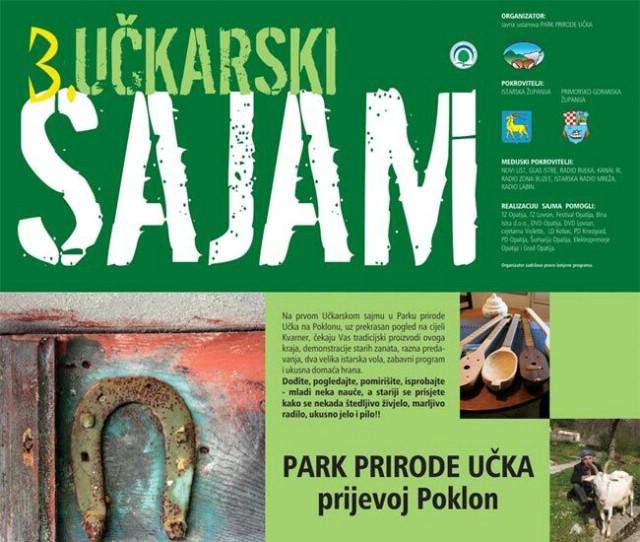 3. Učkarski sajam ove nedjelje na prijevoju Poklon u Parku prirode Učka (Program događanja)