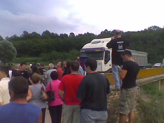 Reagiranje iz Rockwoola: Ravnatelj policije MUP-a obaviješten o prosvjedu i blokadi tvornice