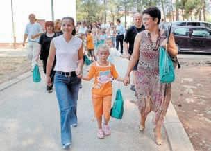 U ponedjeljak će prvi put u labinske školske klupe sjesti 96, a u susjednim općinama 53 prvašića