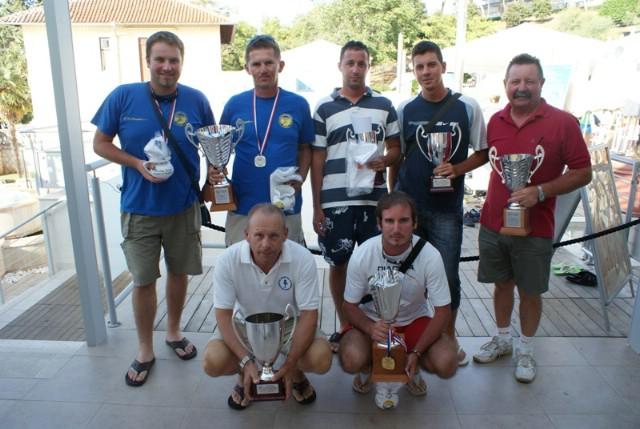 Barak i Bažon ekipno drugi na na Međužupanijskom natjecanju u sportskom ribolovu u Vrsaru