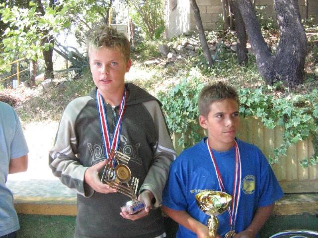 Paolo Baćac i Viktor Benazić iz Plomina osvojili Trofej Koromacno 2009.