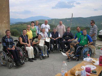 Labinjani na Festivalu sportske rekreacije za osobe s invaliditetom ''Račićki brig 2009''