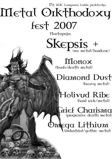 Metal koncert ovaj vikend u KUC Lamparna