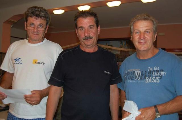 Aldo Mohorović i Viktor Paliska kao najbolji labinjani ipak tek peti na Trofeju Galeb 2009