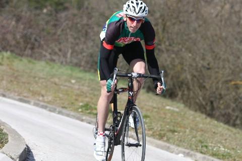 Međunarodna cestovna biciklističa utrka kroz Vojvodinu: Luka Grubić u sredini