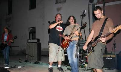 Labinski metal bend Grief Charisma otvorio koncert u povodu dana Istarske županije u Pazinu