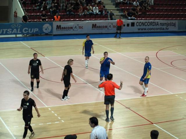 UEFA Futsal Cup: LIVE prijenos od 20:30 na LC Labin.com-u MNK Potpićan 98 (HR) - MNK Kolubara (SRB) 4:3  (Galerija fotografija)