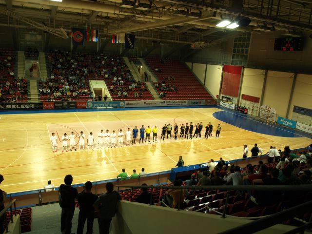UEFA Futsal Cup:  MNK Potpićan 98 (HR) - FC Omonia (CY)  3:3 (1:2) (Galerija fotografija)