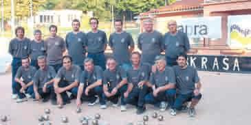 Boćari Raše prvaci prve B županijske lige