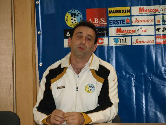 Službeno: trener MNK Potpićan 98 i NK Potpićan Zoran Peruško podnio ostavku na sve funkcije, novi trener Žarko Martedić (interview o razlozima odlaska)