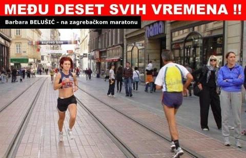 18. Večernjakov maraton - Zagreb 2009. - Barbara Belušić i Milan Bandić srušili osobne rekorde
