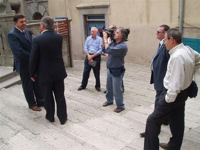 Talijanska televizijska kuća snimila reportažu o Labinu i Raši