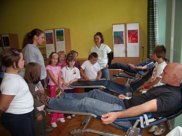 Akciji darivanja krvi u Potpićnu, Koromačnu i Čepiću pristupilo 60 darivatelja