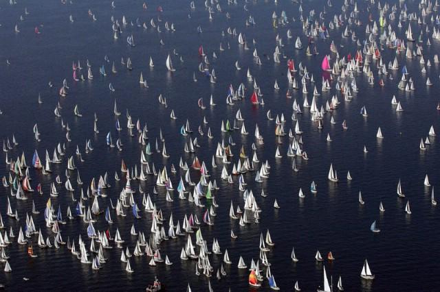 Međunarodna jedriličarska regata BARCOLANA - Trieste  - Rapčani uspješni na jednoj od najvećih europskih regata