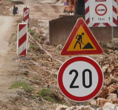 Započela rekonstrukcija dionice ceste Štrmac – benzinska pumpa INA, Istarska ulica zatvorena dva tjedna