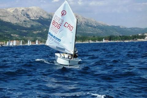 Jedriličarska regata - Funtana 2009. : debitirao Enrico Kos