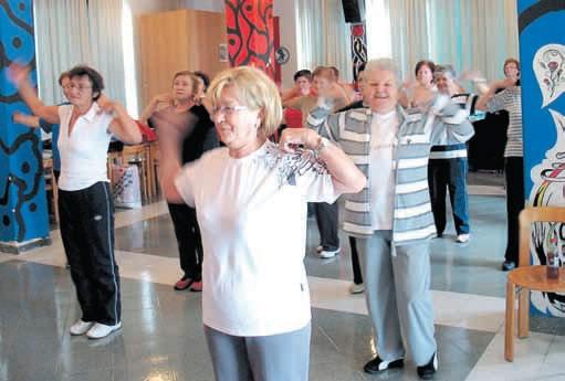 Labinske umirovljenice na rekreaciji: I u starijem tijelu - zdrav duh!