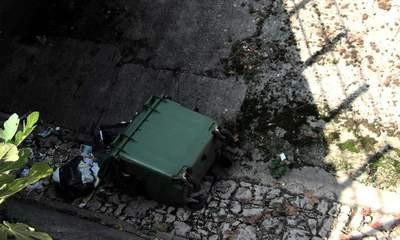 Raša: Zidovi išarani fašističkim porukama, kontejner u kanalu