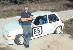 Njegovo tek vrijeme dolazi: Mario Korijan, automobilist iz Labina