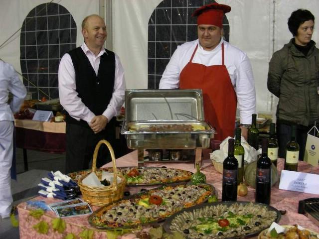 Predstavnici labinskog udruženja obrtnika na 4. gastro okusima Istre