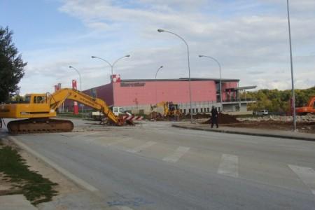 Obavijest o zatvaranju prometnice od raskrižja za Marcilnicu  do restorana Šterna od 9. do 24. studenog