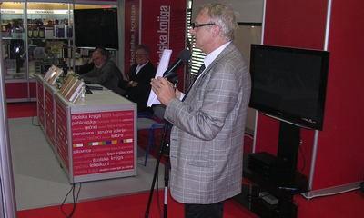 """Zbirke cakavice """"Rhapsody in Ca"""" i """"Manutekstura"""" Danijela Načinovića na INTERLIBERU u Zagrebu"""