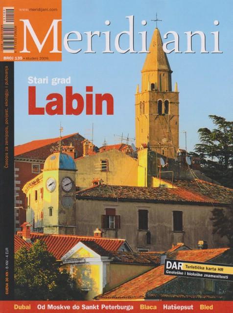 Labin na naslovnici časopisa Meridijani za studeni podijeljen svakom labinskom učeniku