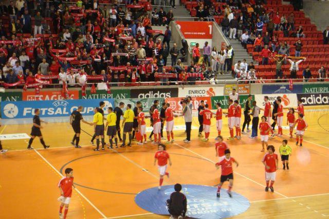 UEFA FUTSAL CUP – ELITE ROUND / LISBON: FC Benfica-MNK Potpićan 98. ABS 8:1 (3:1)
