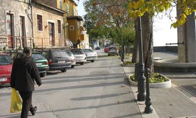 Akcija stanovnika starog Labina: organizirano do vlastitog parkinga