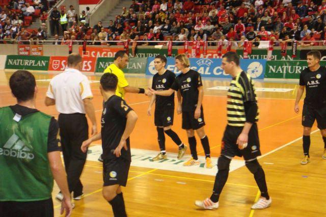 UEFA FUTSAL CUP – ELITE ROUND / LISBON: MNK Potpićan 98. ABS -  FC Marlene (NL) 2:1 (1:0)