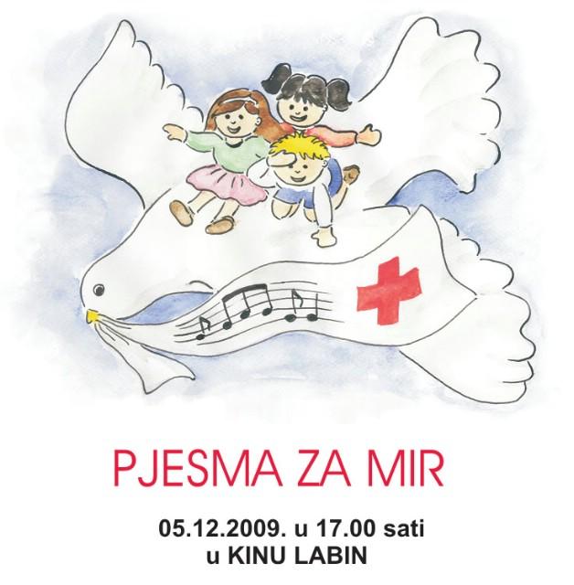 """Humanitarni koncert """"Pjesma za mir"""" u subotu u Kinu Labin"""